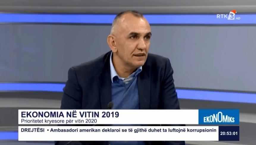 Krasniqi: The 4.2% economic growth does not represent the actual situation in Kosovo