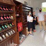 Oda e Afarizmit të Kosovës takoi pronarin e bodrumit të verës  BahhaWine, z.Amir Shehu.