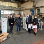 """OAK viziton Plus Center Ferizaj dhe Fabrikën e Veglave """"Plus"""""""