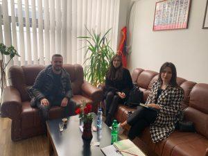 "CDBK visited member business ""Agimi-De"""