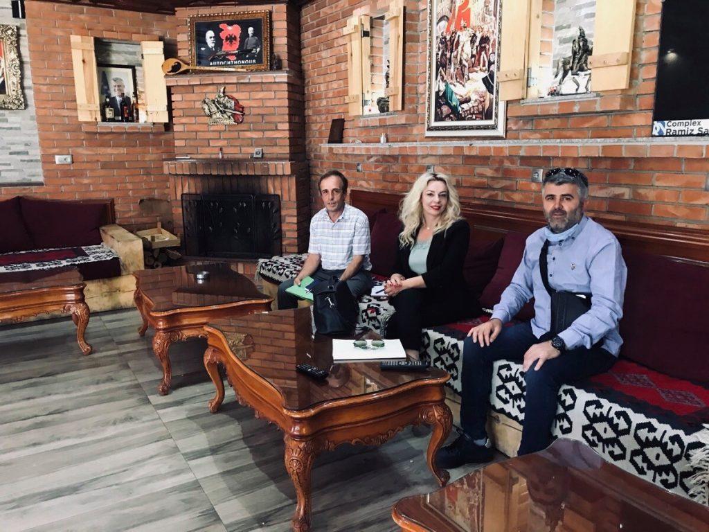 Zyrtaret e Odës së Afarizmit të Kosovës  takuan Shefki Krasniqin pronarin e kompanisë Ramiz Sadiku New Co.