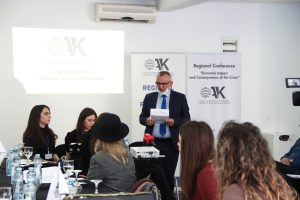 The CDBK organized a joint table with Kosovo business women