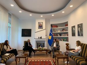 CDBK and Minister Çeku discuss for Media Involvement in the Law of Sponsorship