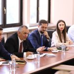 Delegation of CDBK was welcomed in the meeting by Ministry of Economy in Northern Macedonia