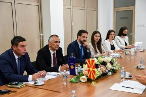 CDBK realized meeting with the Ministry of Justice in Northern Macedonia